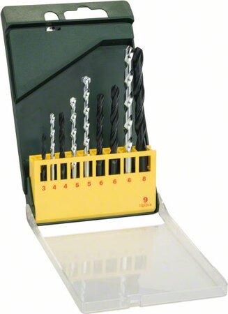 HSS-R Metall-Steinbohrer-Set