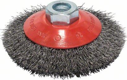 Kegelbürste Clean for Metal gewellter Draht