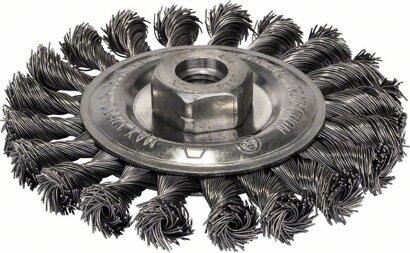 Scheibenbürste Heavy for Metal gezopfter Draht