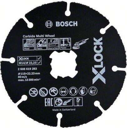 X-LOCK Trennscheiben Carbide Multi Wheel