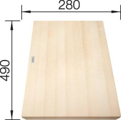 COLLECTIS 6 S Holzschneidbrett