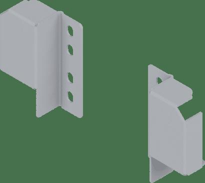 Reling-Rückwandhalter Set (links + rechts)