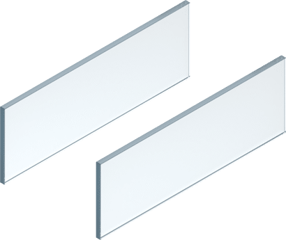 LEGRABOX free Glaseinschubelement Set
