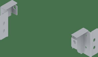 TANDEMBOX Rückwandhalter