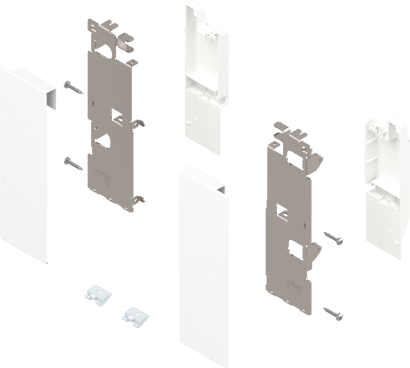 LEGRABOX pure/free Frontbefestigung-Set für Innenauszug