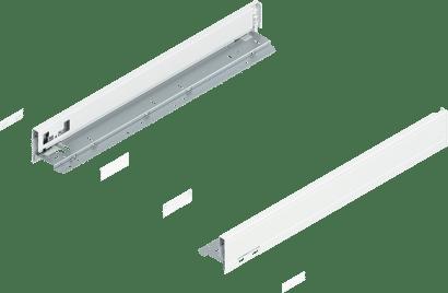 LEGRABOX pure Zargenset Höhe N (66 mm)