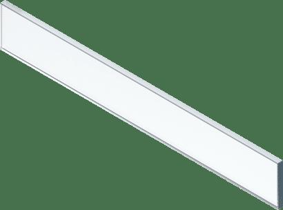 LEGRABOX pure/free Glaseinschubelement vorne