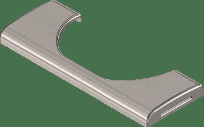 Stahl Topfabdeckkappe rechteckig