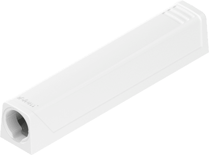 TIP-ON für Türen Adapterplatte gerade zum Anschrauben