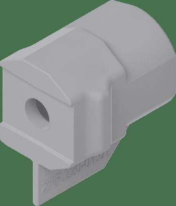 Front-Adapter für Reling bei Alurahmen + Antaro