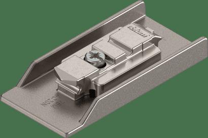 CLIP CRISTALLO-Montageplatte zum Kleben