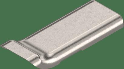 Stahlabdeckkappe für CLIP top MB gekröpfter Bandarm