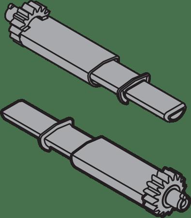 TIP-ON Ritzel für TANDEM Synchronisierung