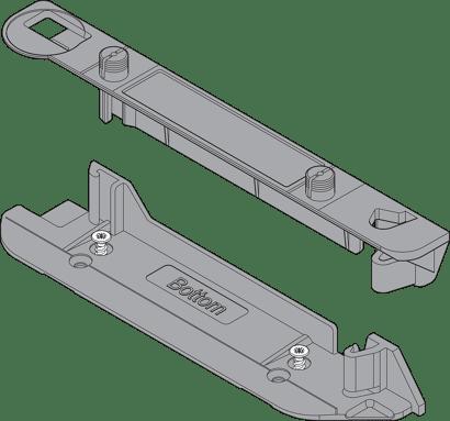 SERVO-DRIVE Trägerprofilaufnahme