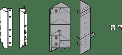 TANDEMBOX antaro Eckschrankset