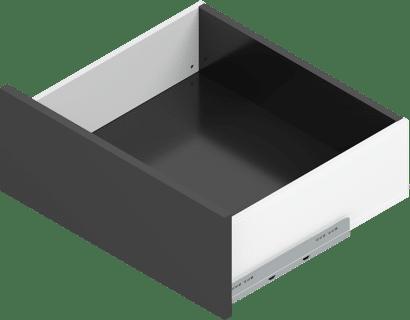 LEGRABOX pure Zargenset Höhe K (128 mm)