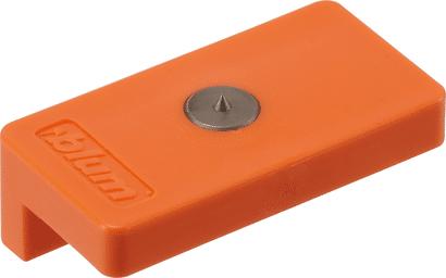 Körnlehre TIP-ON 956 für Haftplatte zum Anschrauben