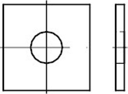Vierkantscheiben