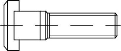 DIN 787 Stahl 8.8 T-Nutenschrauben