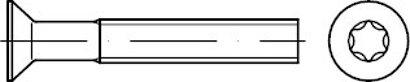 DIN 965 A 2 ISR Senkschrauben, mit Innensechsrund