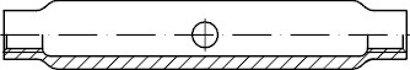 DIN 1478 Stahl SP galvanisch verzinkt Spannschlossmuttern geschlossene Form