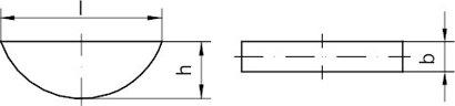 DIN 6888 Stahl C45+C Scheibenfedern