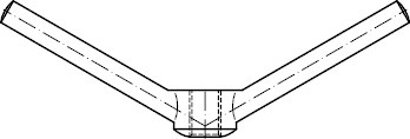 DIN 80701 Messing Knebelmuttern