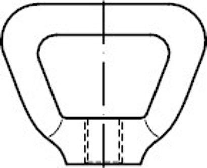 DIN 80704 A 4 Korbmuttern
