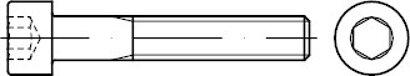 ISO 4762 12.9 Zylinderschrauben mit Innensechskant