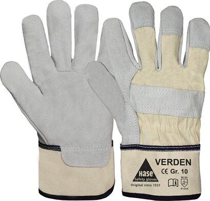 Handschutz Verden aus Rindspaltleder