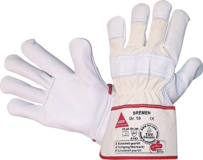 Handschuh Bremen Rindnarbenleder