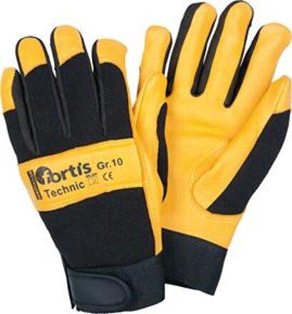 Handschuh Technic Hirschleder