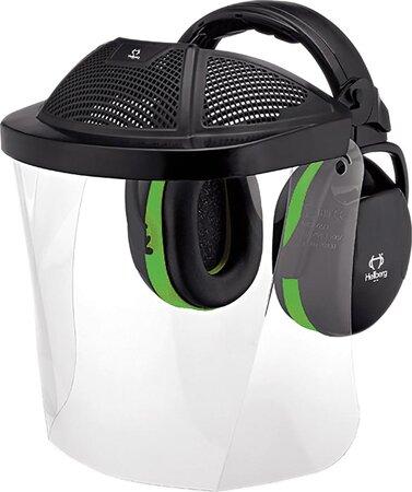 Kopfschutzset Kapsel PC-Scheibe