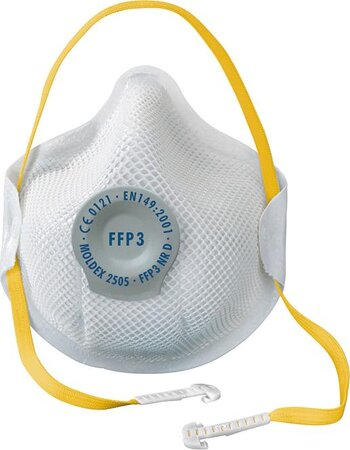 Atemschutzmaske 2505 Ventil FFP3 NR D