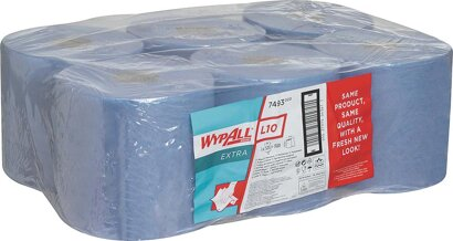 Wischtuch Wypall® L10 Extra, Zentralentnahme, Roll Control System