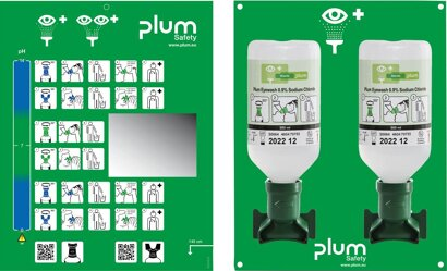 Augenspülstation inkl. 2 Flasche