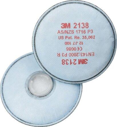Atemschutz-Filter gegen Feinstäube