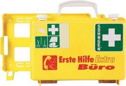 Erste-Hilfe-Koffer Extra Büro DIN 13157 gelb
