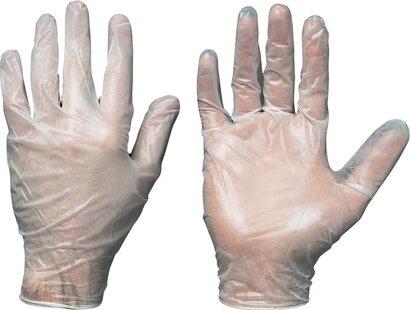 Einweg-Handschuh Sanya Vinyl ungep.