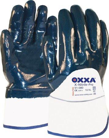 Handschuh Oxxa X-Nitrile-Pro Stulpe offen