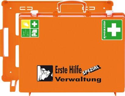 ErsteHilfe-Koffer SpezialMT-CD Verwaltung orange