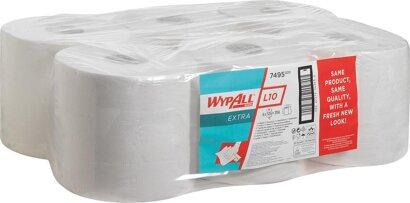 WYPALL L10 Wischtücher 18 weiß