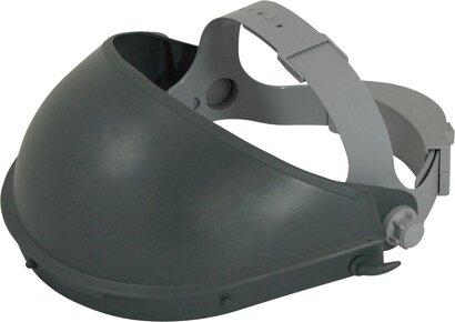 Kopfhalterung mit Stirnschutz