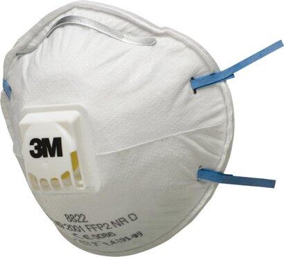 Feinstaubmaske 8822 FF P2 mit Ausatemventil
