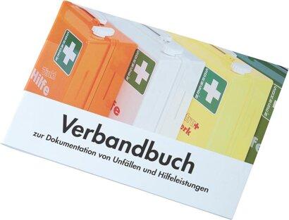 Verbandbuch DIN A 5 mit vorgedruckten Spalten