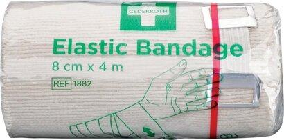 Bandage elastisch mit Clip
