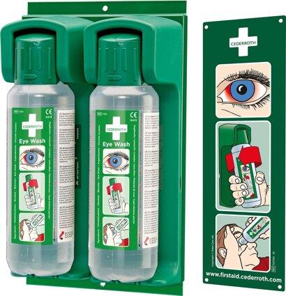 Wandhalter für Augenspülflasche