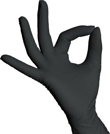 Einweg-Handschuh SHATIN Nitril ungep.