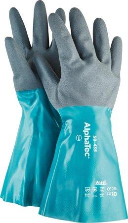 Handschuh AlphaTec 58-435 Nitril