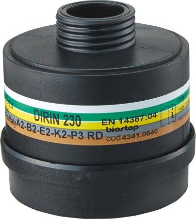 Mehrbereichskombifilter DIRIN 230 ABEK2-P3R D